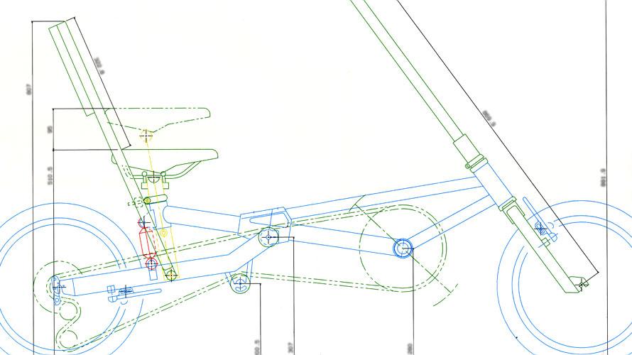 タルタルーガ自転車タイプF図面