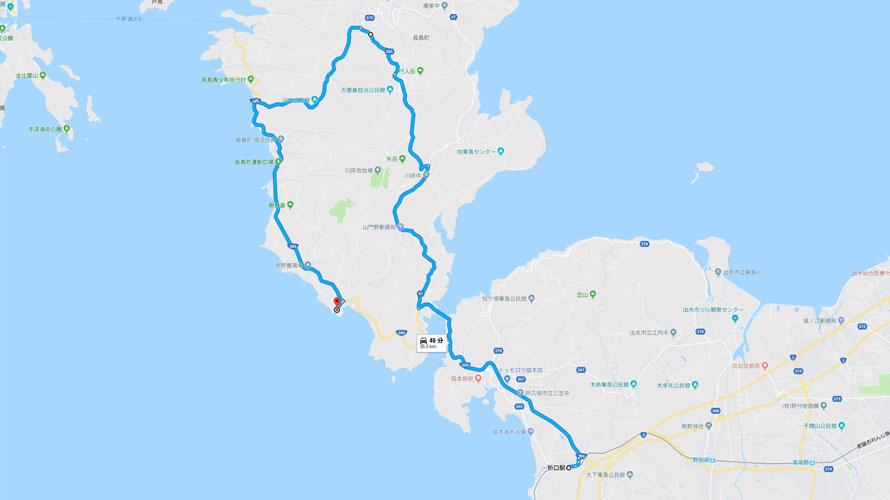 自転車と旅タルタルーガマップ