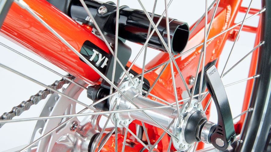 タルタルーガ自転車タイプSイージーフォールディングアダプター