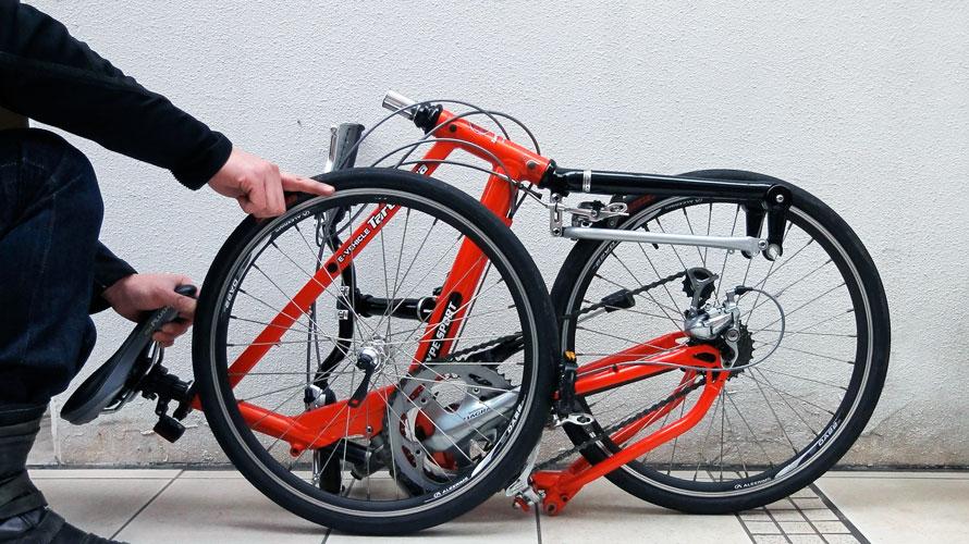 タルタルーガ自転車タイプSイージーフォールディング