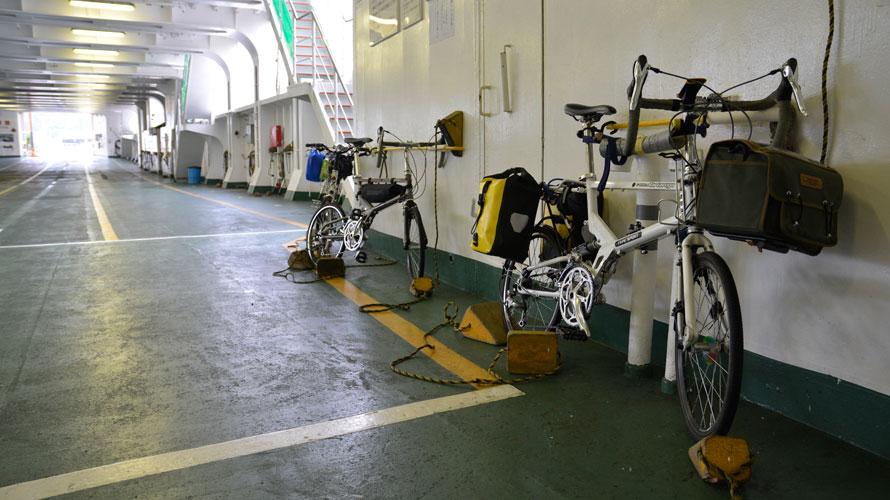 タルタルーガ自転車タイプS輪行