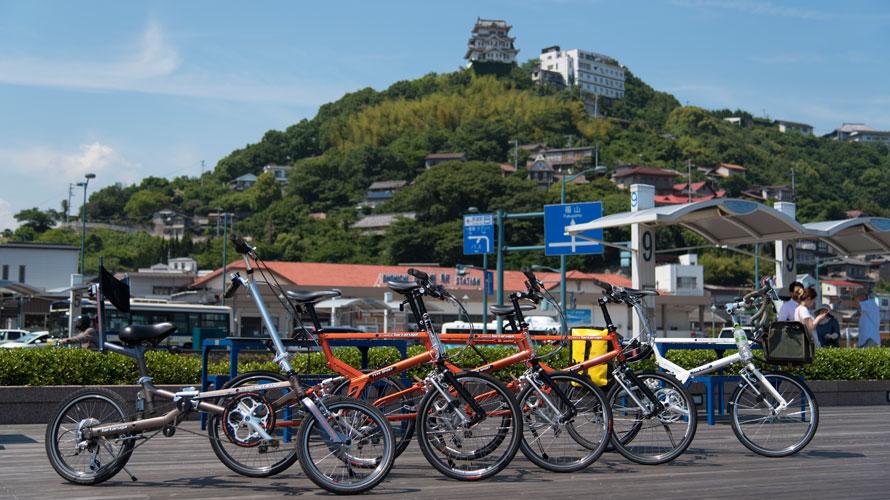 タルタルーガ自転車輪行しまなみ海道