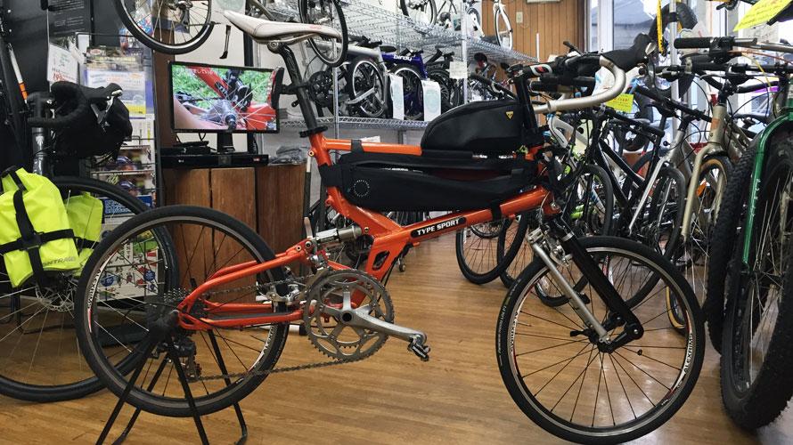 タルタルーガ自転車タイプSブルベ
