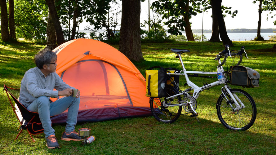 Tartaruga Type SPORT でキャンプに行こう! その1
