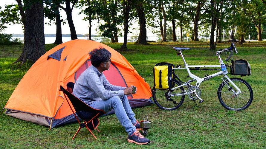 タルタルーガ自転車キャンプ