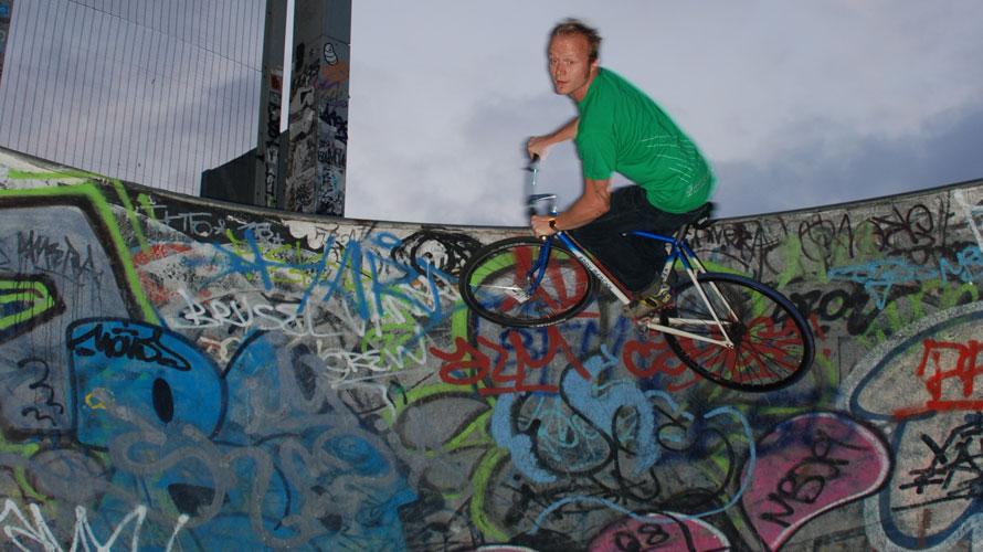 タルタルーガ自転車ステイン