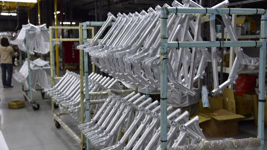 タルタルーガ自転車TypeSPORT生産