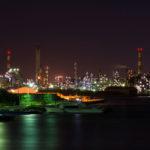 「工場夜景」撮影