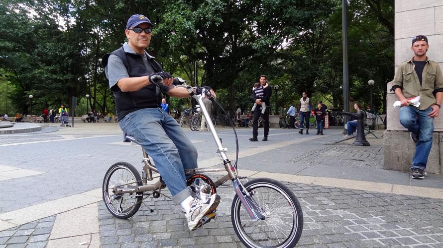タルタルーガ自転車タイプフォールディング試乗会inニューヨーク